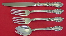 S PRINCE EUGENE ALVIN STERLING CREAM SOUP SPOON