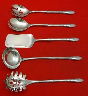 "Set of 8 x Salad Dessert Forks 6 5//8/"" Oneida Community Lady Hamilton 1932"