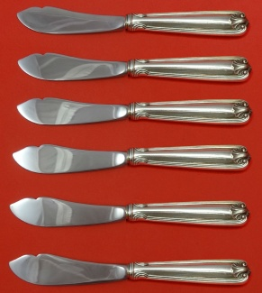 """Benjamin Ben Franklin by Towle Sterling Silver Pastry Tongs Custom Made 9 7//8/"""""""