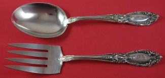 """King Richard by Towle Sterling Silver Gravy Ladle Custom Made HH WS 8/"""" Serving"""