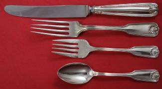"Benjamin Franklin aka Ben Franklin by Towle Sterling Silver Dinner Fork 7 3//4/"""