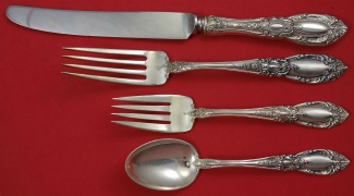 """King Richard by Towle Sterling Silver Place Soup Spoon 7 1//4/"""""""
