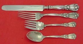 "Iris by Durgin-Gorham Sterling Silver Cream Soup Spoon 5 1//2/"""