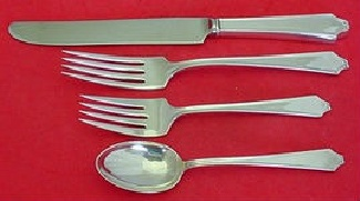MINUET-INTERNATIONAL 4 PIECE STERLING LUNCH PLACE SETTING-FRENCH