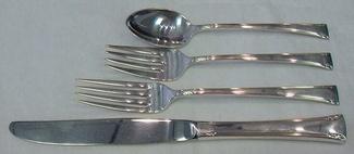 Serenity by International Sterling Silver Dinner Fork 7 58