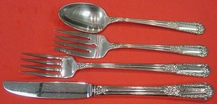 Inaugural by State House Sterling Silver individual 4 Piece Place Setting