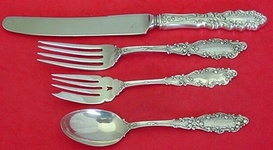 """Luxembourg by Gorham Sterling Silver Salad Fork Pierced 5 7//8/"""""""